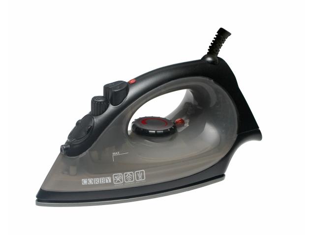 No Steam Iron ~ Sherwood w steam iron black no plug corby of windsor