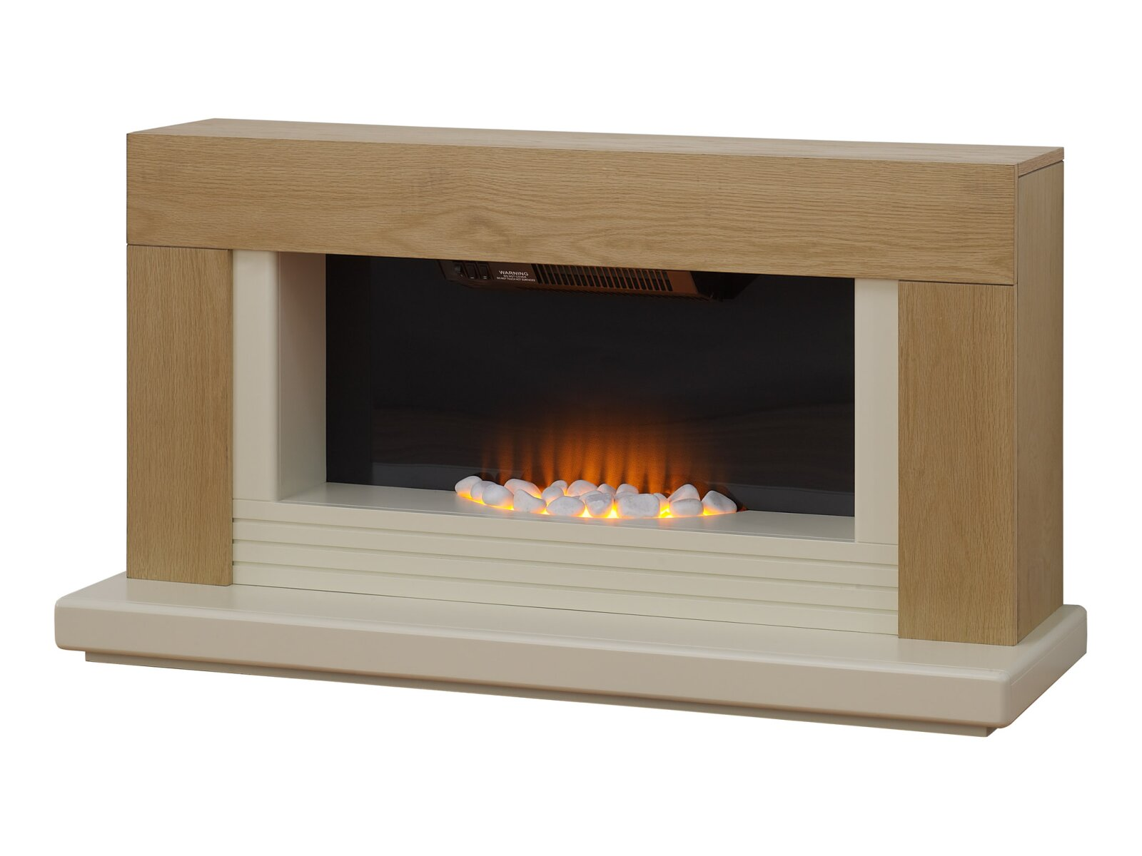Adam Carrera Fireplace Suite In Oak 48 Inch Fireplace World