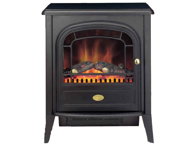 Black Electric Stove ~ Dimplex club electric stove in black fireplace world