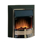 Dimplex Zamora Electric Fire in Black