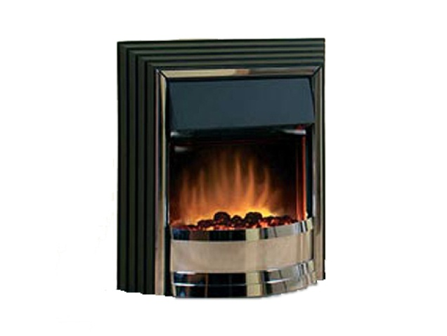 Dimplex Zamora Electric Fire In Black Fireplace World