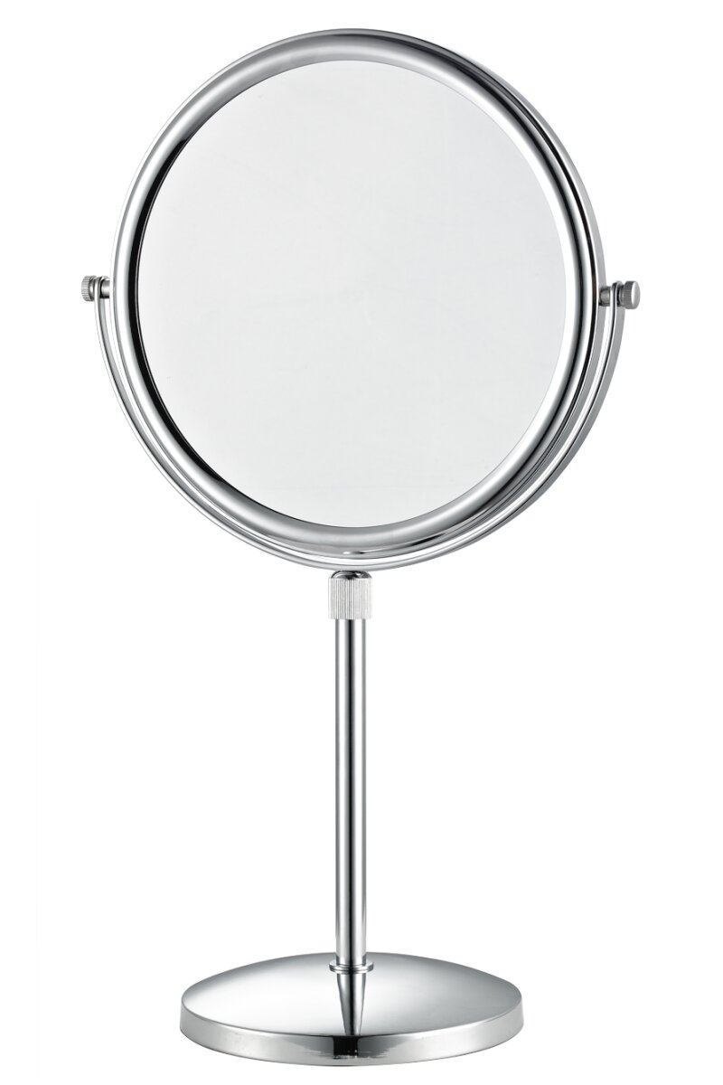 Free Standing Guest Room Mirror In Chrome Corby Of Windsor