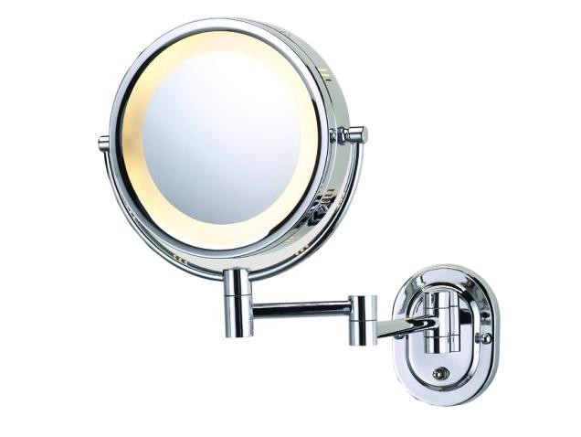 Illuminated Wall Mounted Cosmetic Shaving Mirror