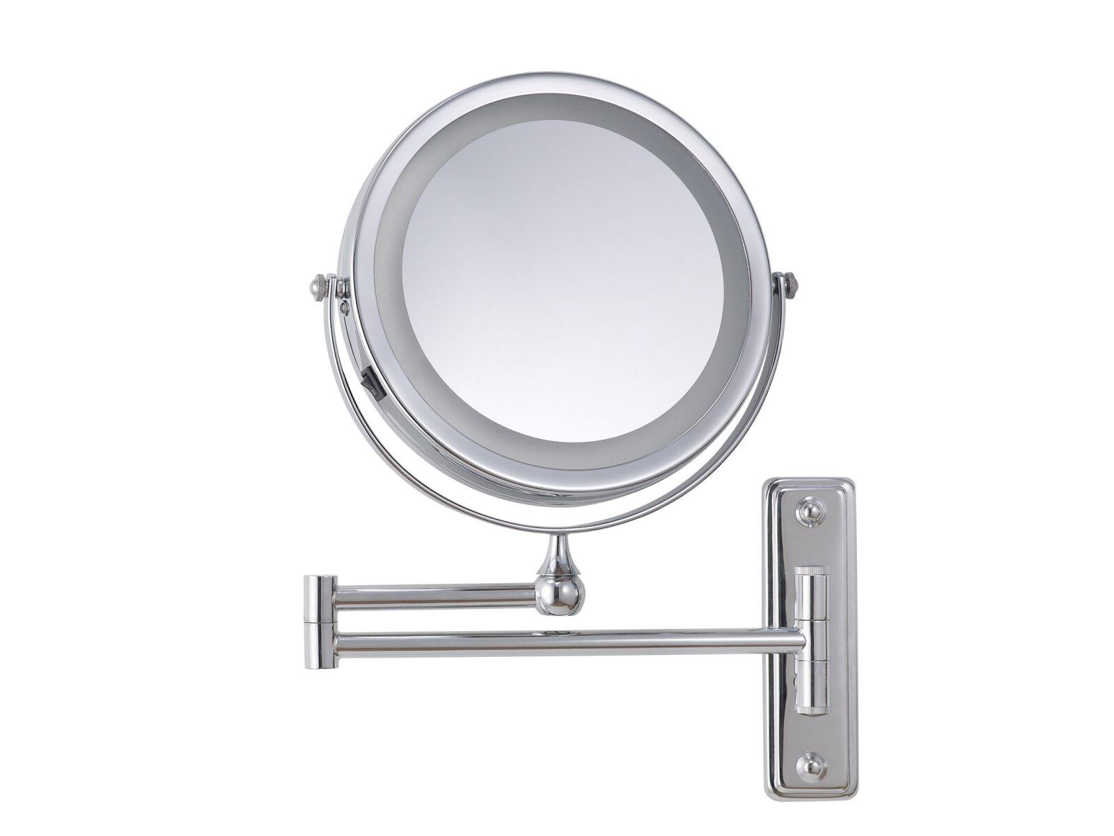 beleuchteter kosmetikspiegel wandmontiert corby. Black Bedroom Furniture Sets. Home Design Ideas