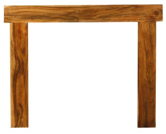 The Fenchurch Mantelpiece in Acacia by Carron, 54 Inch