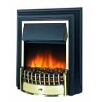 Dimplex Cheriton LED Electric Fire in Brass