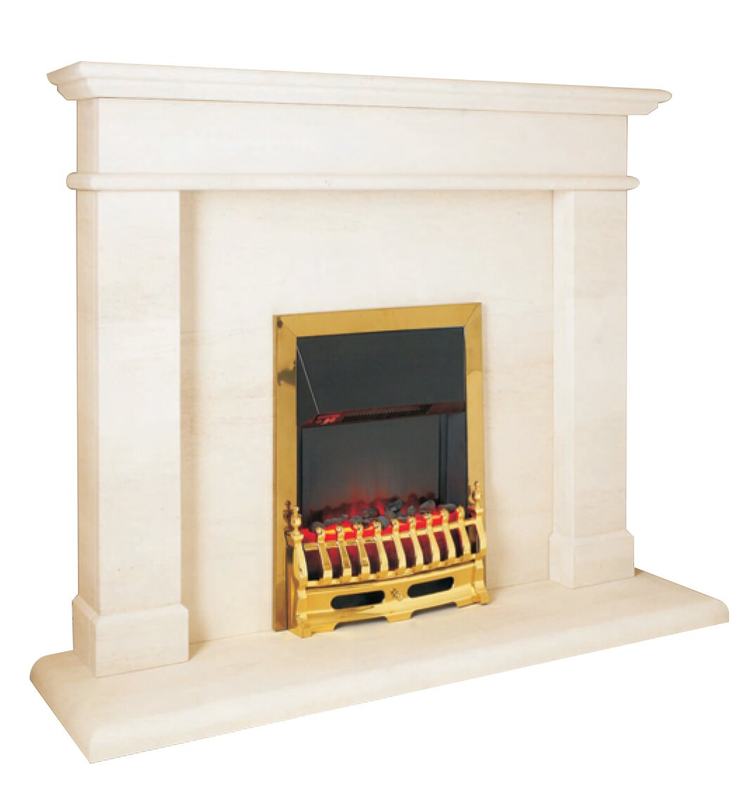 aurora windsor limestone fireplace surround fireplace world