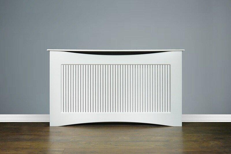 Large White Fairlight Radiator Cover 1600mm Fireplace World