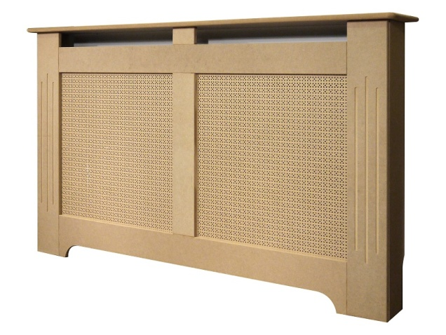 Large Unfinished Wickford Radiator Cover, 1600mm