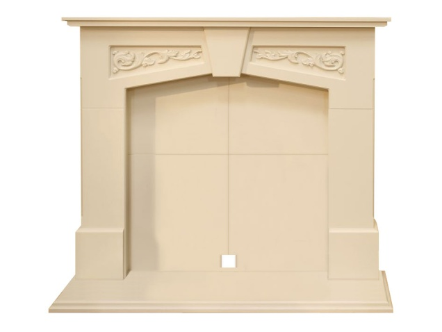 Adam Richmond Inglenook Stove Fireplace In Stone Effect