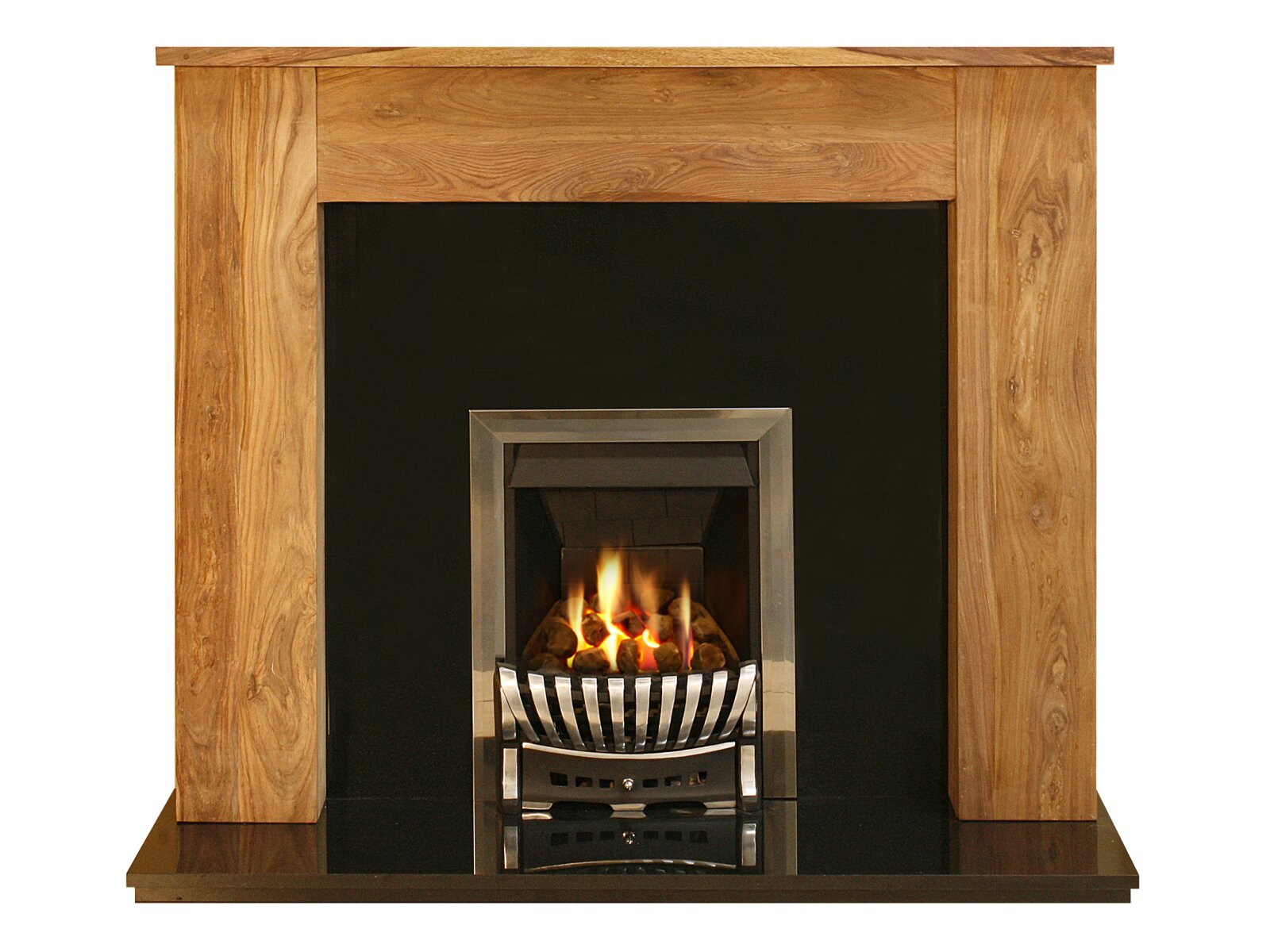 adam sheesham granite fire surround set 54 inch. Black Bedroom Furniture Sets. Home Design Ideas