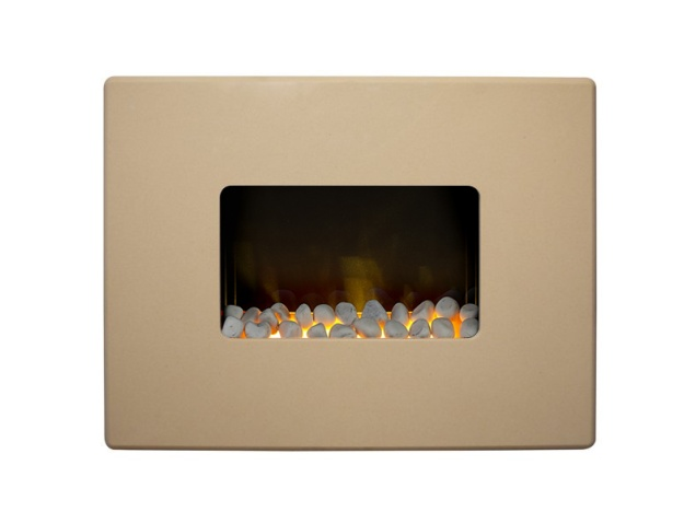 adam nexus wall mounted electric fire in beige stone  30