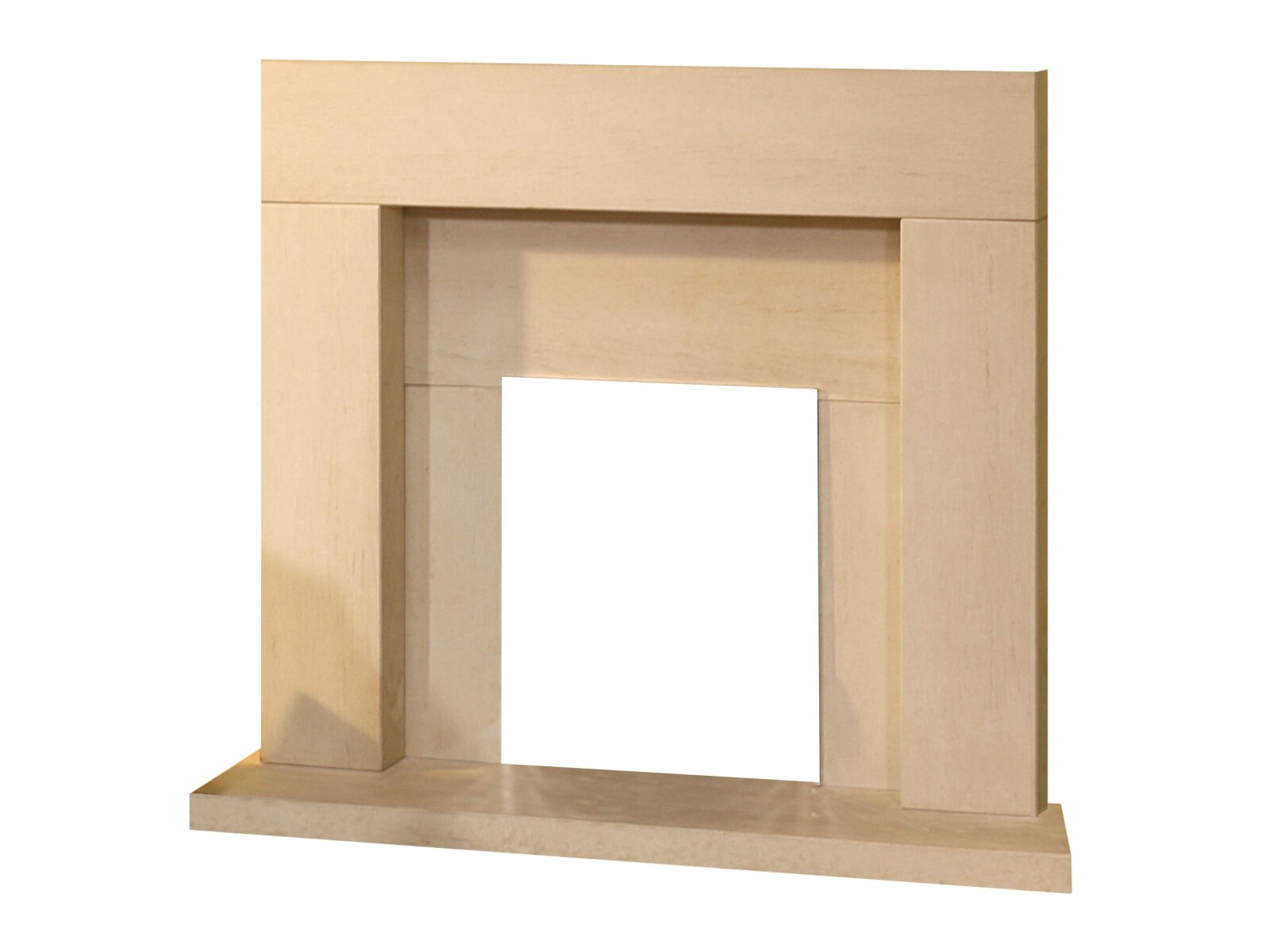 aurora miami limestone fire surround set 45 inch