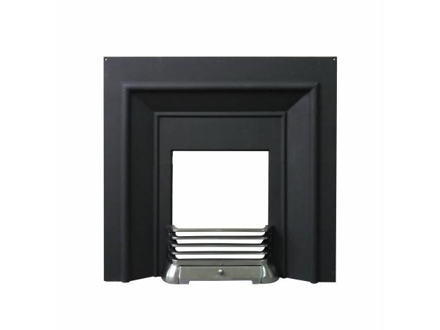 Castletown Cast Iron Fireplace Back Panel Set, 38 Inch | Fireplace ...