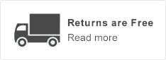Returns are free