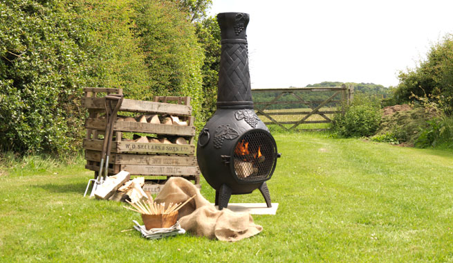 Cast Iron Chimnea