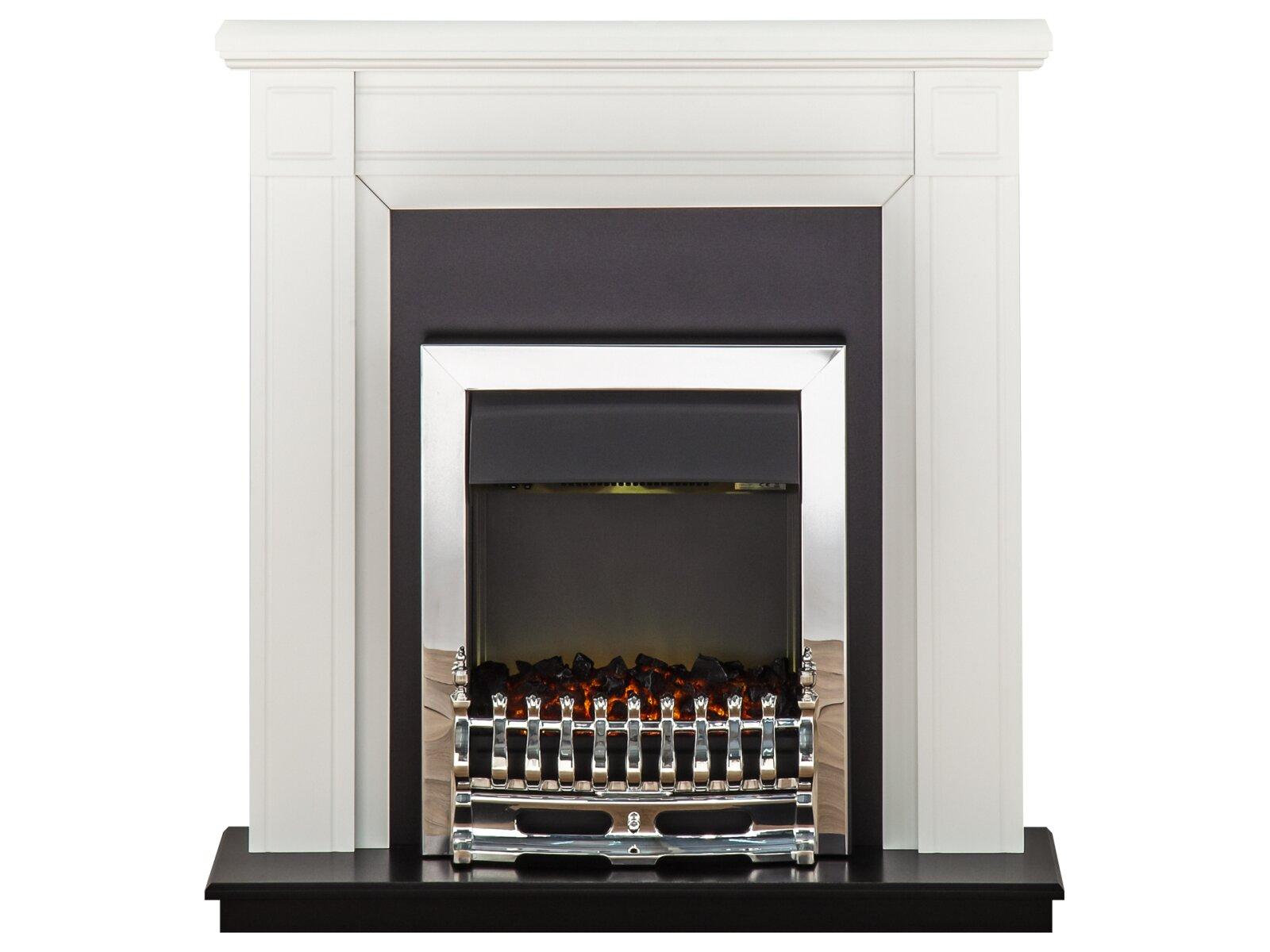 Adam Georgian Fireplace Suite In Pure White With Blenheim