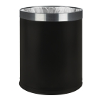 7L Black Double Layer Waste Bin (Case Qty 6)