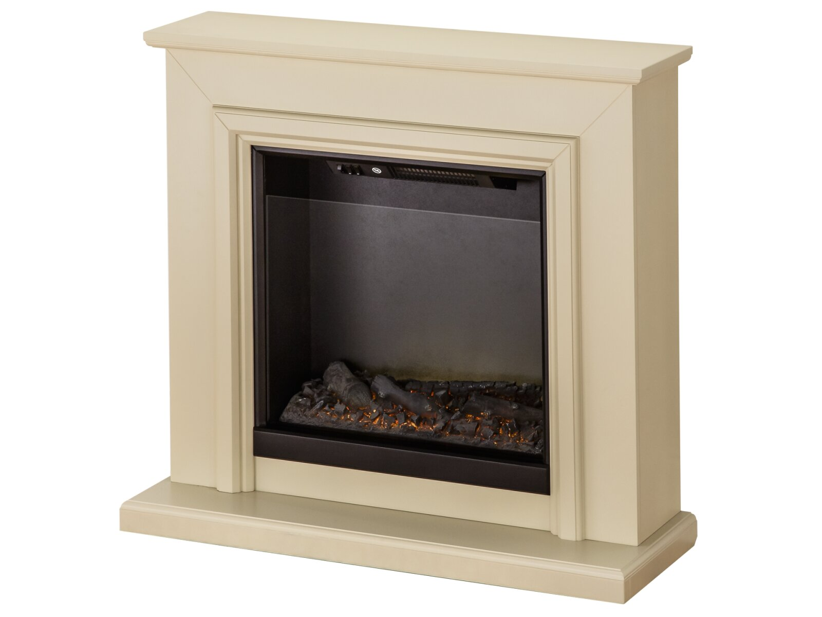 Adam Hampton Fireplace Suite In Stone Effect 39 Inch