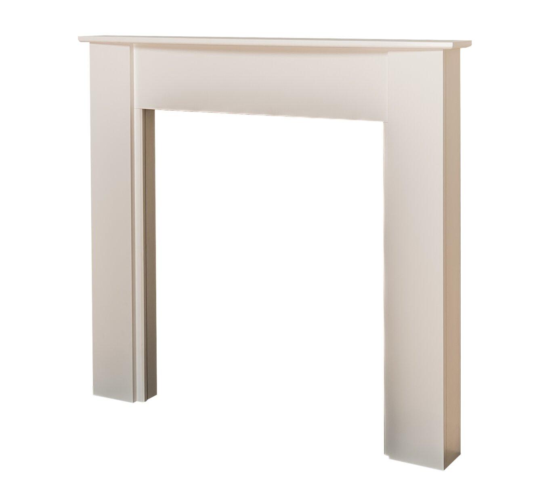 adam white fireplace surround 48 inch fireplace world