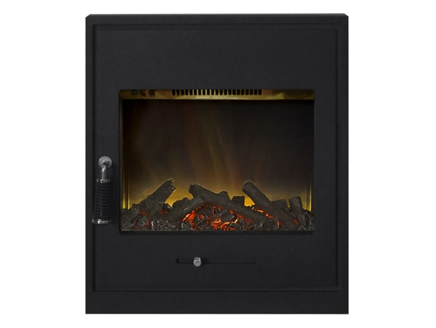 Adam Oslo Inset Electric Stove in Black