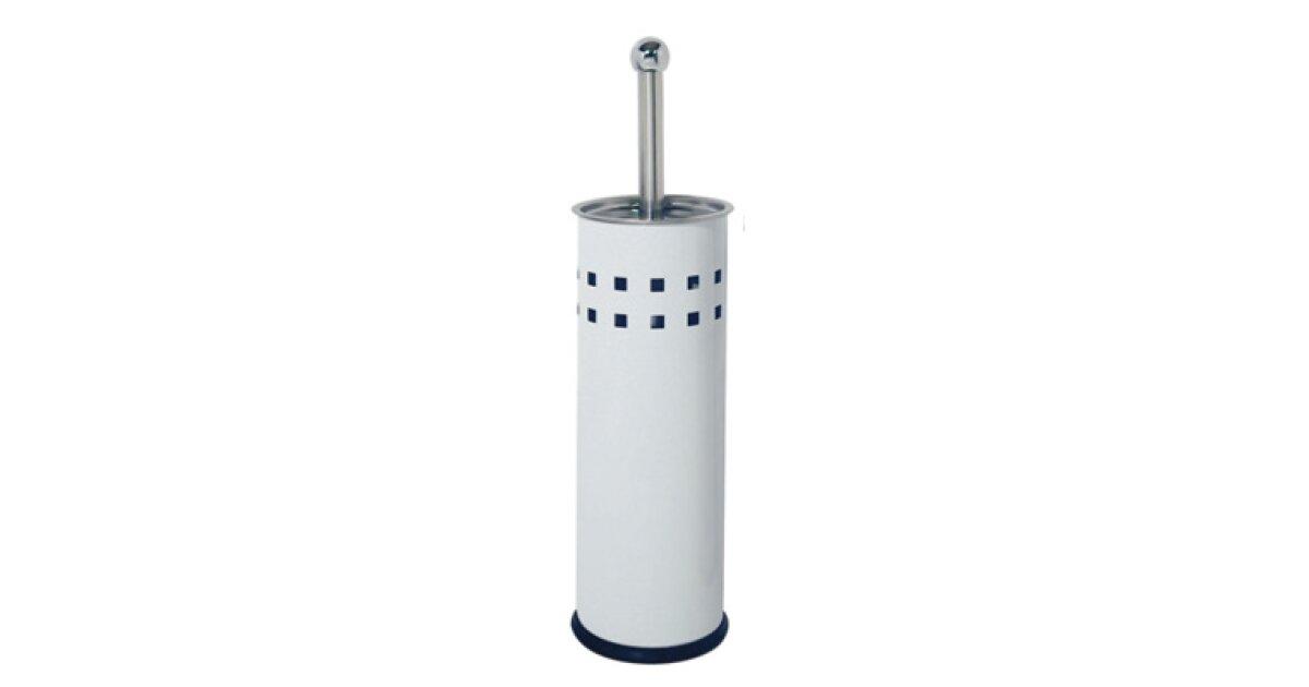 scopini bagno in acciaio inossidabile colore bianco confezione da 6 corby hospitality