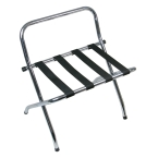 Chrome Folding Luggage Rack