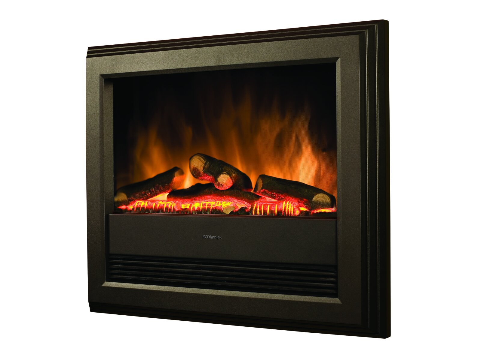 Dimplex Bach Electric Fire In Black Fireplace World