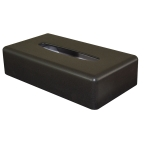 Black Rectangle Tissue Box Cover (Case Qty 6)