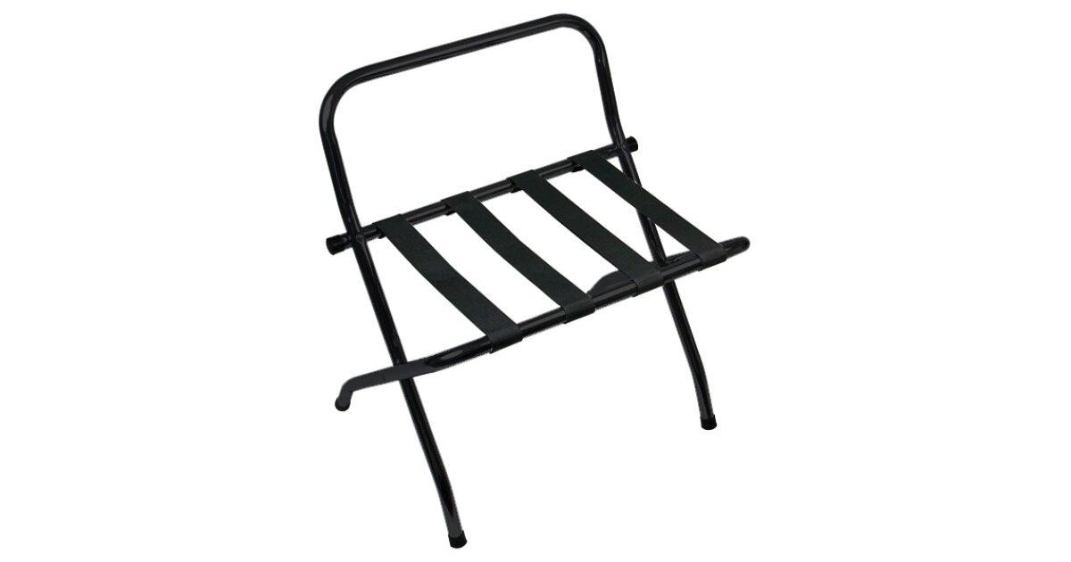 black folding luggage rack - Luggage Racks For Bedrooms