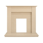 Limited Edition Dortmund Fireplace in Sahara Beige Stone, 48 Inch