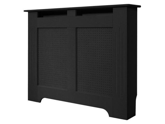 medium black burford radiator cover 1200mm fireplace world. Black Bedroom Furniture Sets. Home Design Ideas