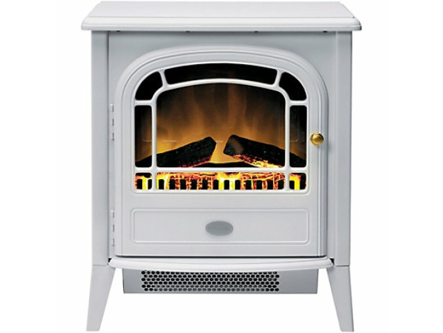 White Electric Stove ~ Dimplex courchevel white electric stove fireplace world