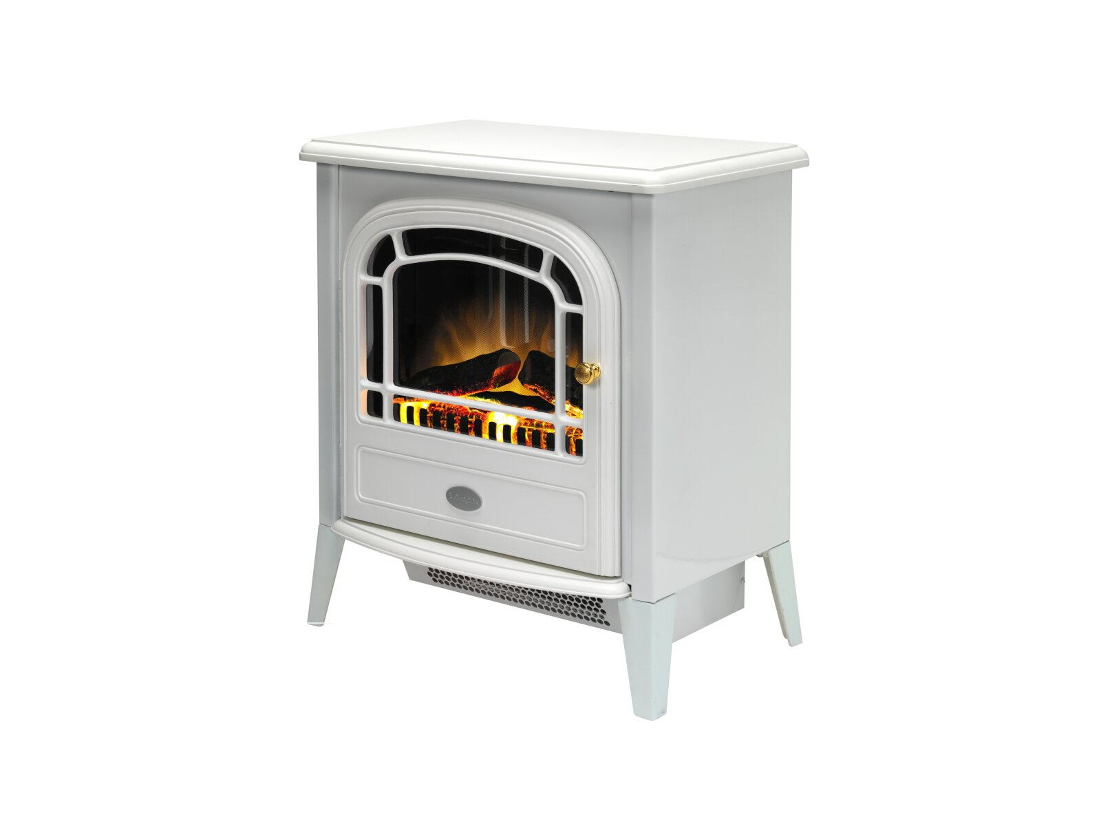Dimplex Courchevel White Electric Stove Fireplace World