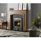 The Dream Slimline Convector Gas Fire In Pale Gold by Valor
