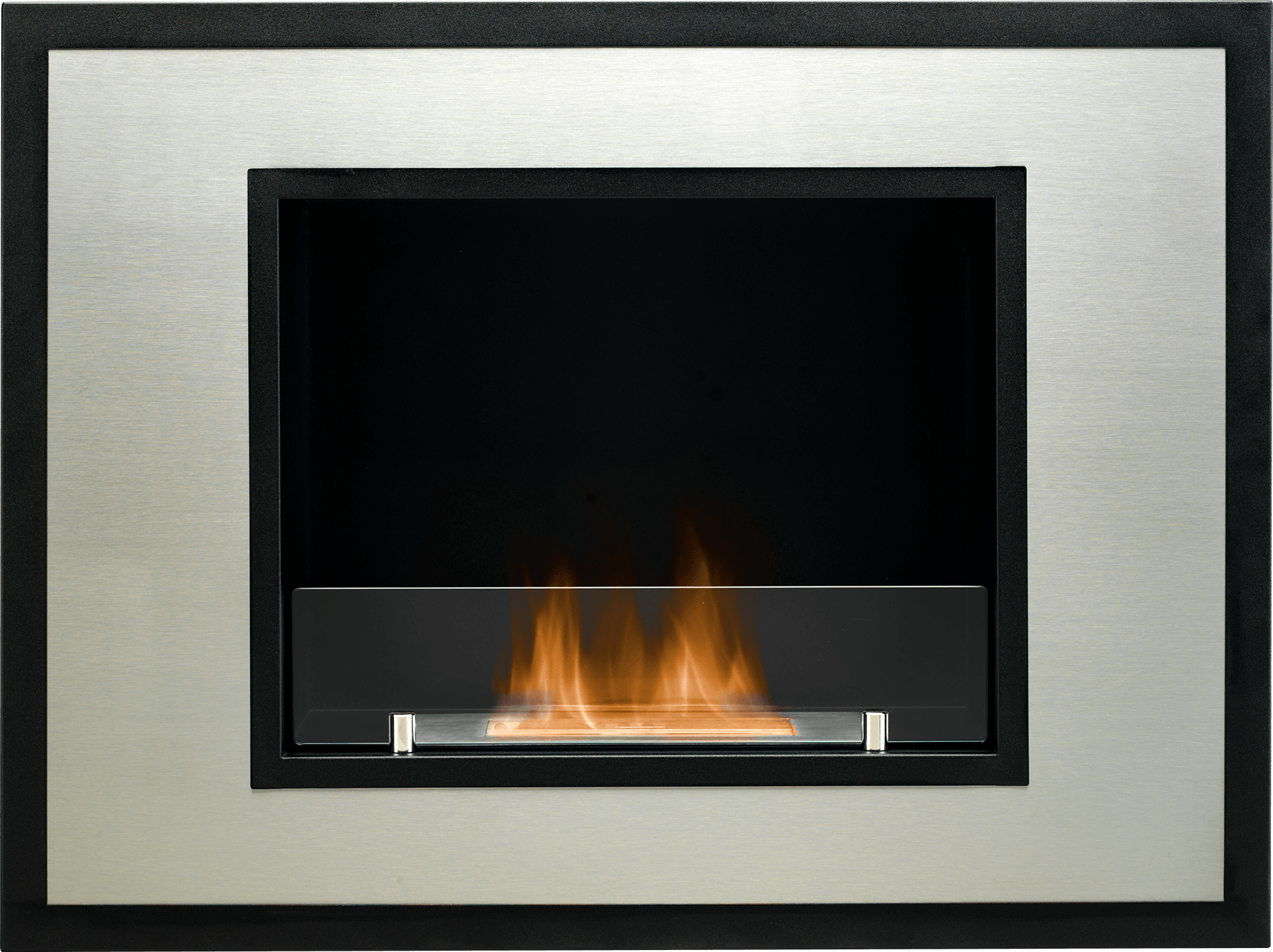 The Cuadro Wall Mounted Bio Ethanol Fire