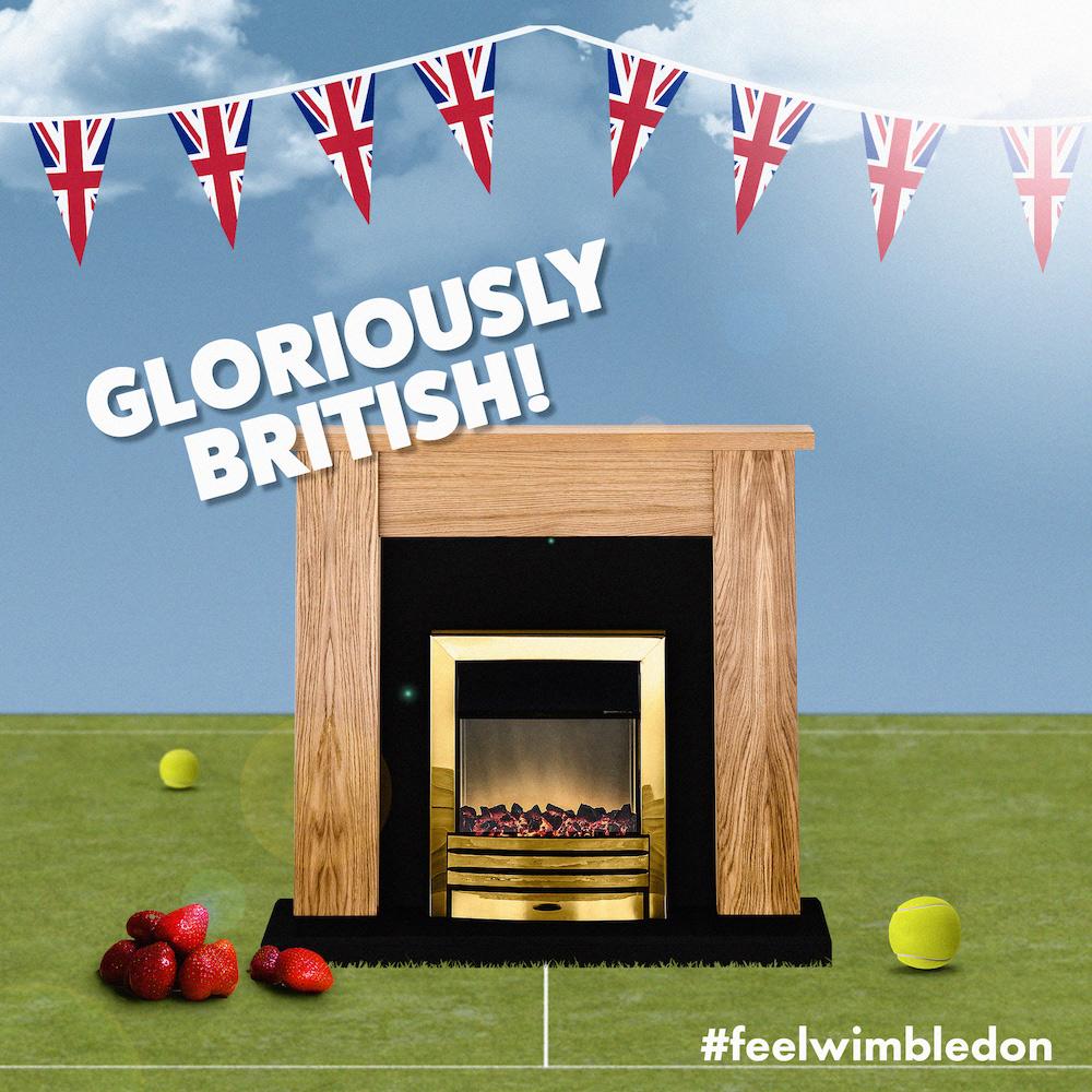 Gloriously British