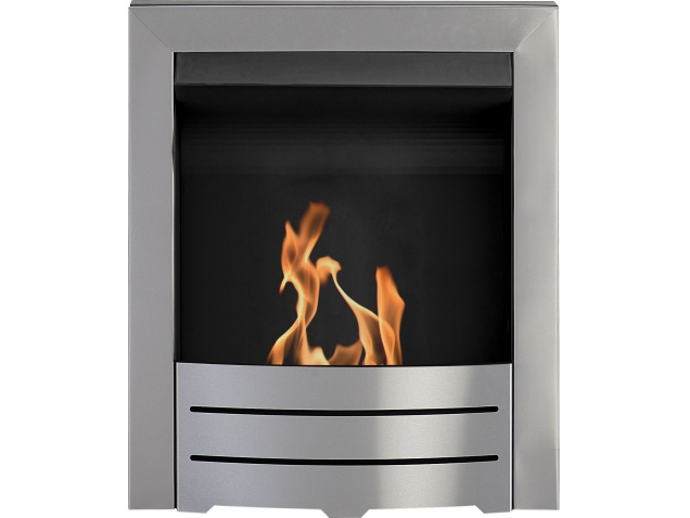 Adam Colorado Bio Ethanol Fire in Brushed Steel