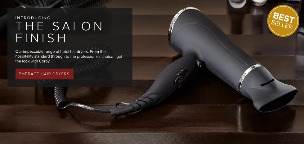 The salon finish professional hairdryers
