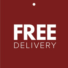 Free delivery for orders above £500.00 Ex Vat