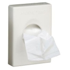 Corby White Hygiene Bag Dispensers (Case Qty 6)