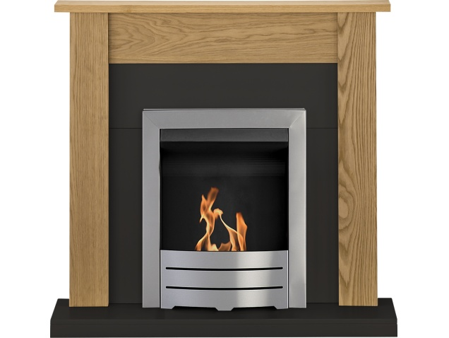 adam-southwold-fireplace-suite-oak-black-with-colorado-bio-ethanol-fire-in-brushed-steel-43-inch