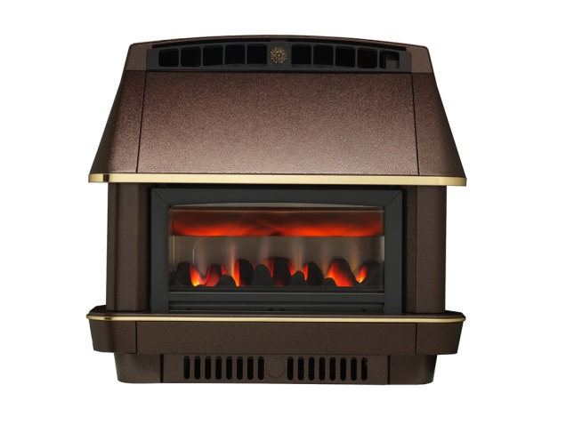 The Firecharm Lfe Outset Gas Fire In Bronze By Robinson