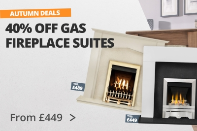 40% OFF Gas Fireplace Suites