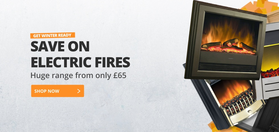 Get Winter Ready - Electric Fires