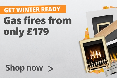 Gas fires from only £179