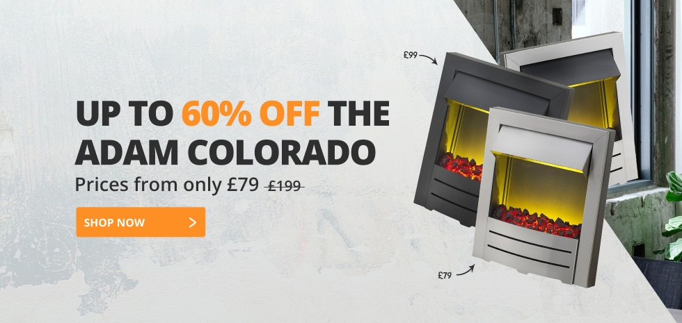 Up to 60% Off the Colorado Electric Fire