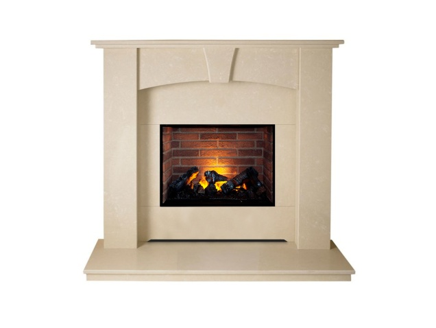 the-devon-optimyst-fireplace-suite-in-roman-stone-48-inch