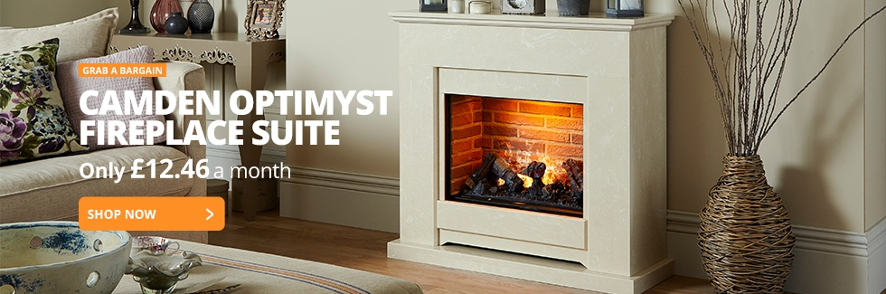 Camden Optimyst Fireplace Suite