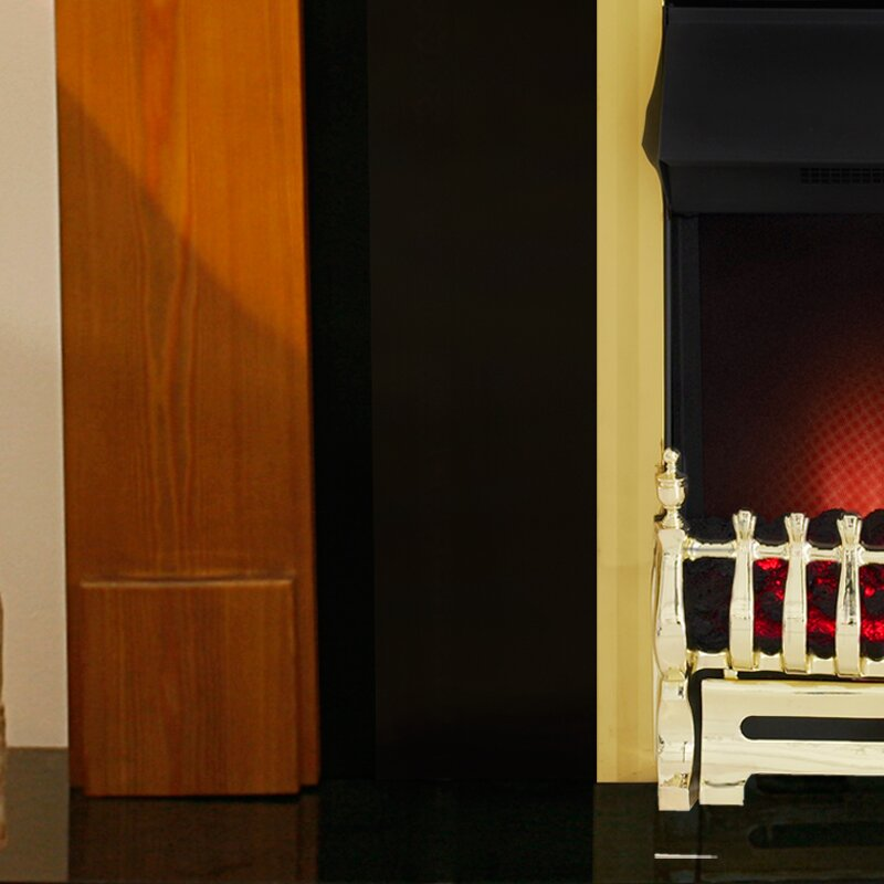 Moldova And Granite Fireplace With Adam Ribbon Electric